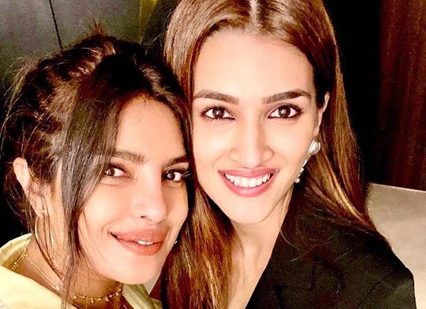 Priyanka Chopra Jonas and Kriti Sanon pose together for an enchanting selfie