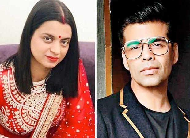 Rangoli Chandel takes a dig at Karan Johar and his upcoming film Takht