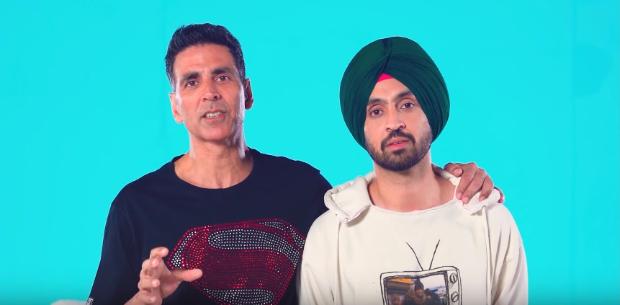 Good Newwz: Akshay Kumar and Diljit Dosanjh scream as they undergo labour pain test