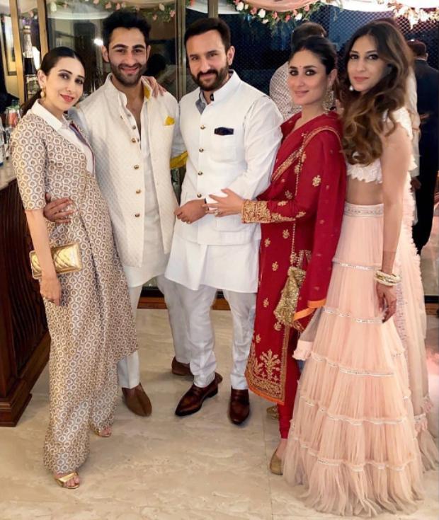 Kareena Kapoor Khan gets ready at airport; Saif Ali Khan, Kiara Advani, Tara Sutaria shine bright at Armaan Jain's roka ceremony