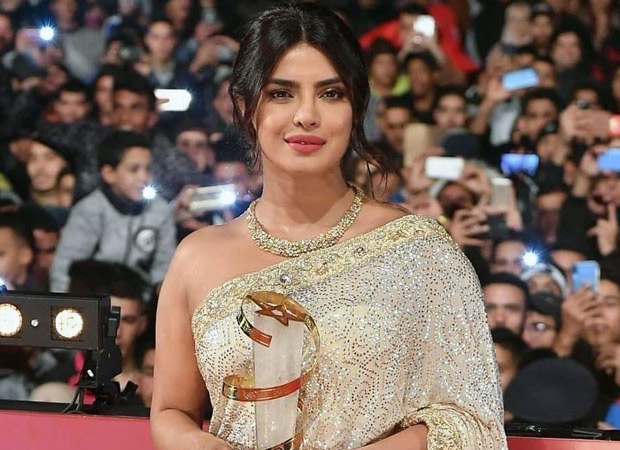 Priyanka Chopra Jonas attends the Marrakech International Film Festival to receive recognition for her contribution to cinema
