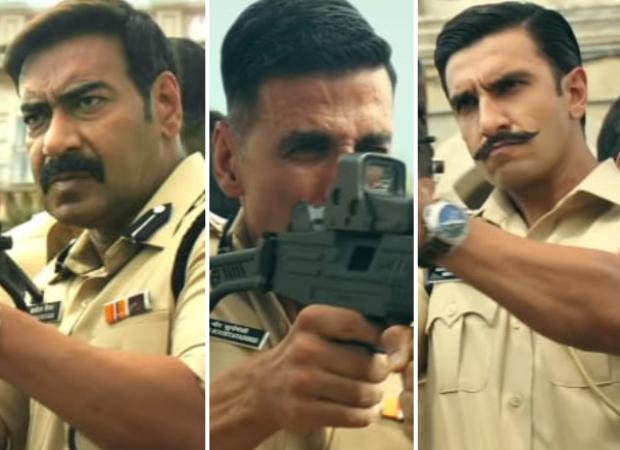 Sooryavanshi: Ajay Devgn says filming with Akshay Kumar and Ranveer Singh felt like house on fire