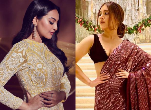 What's Your Pick Sonakshi Sinha in Falguni Shane Peacock or Bhumi Pednekar in Manish Malhotra