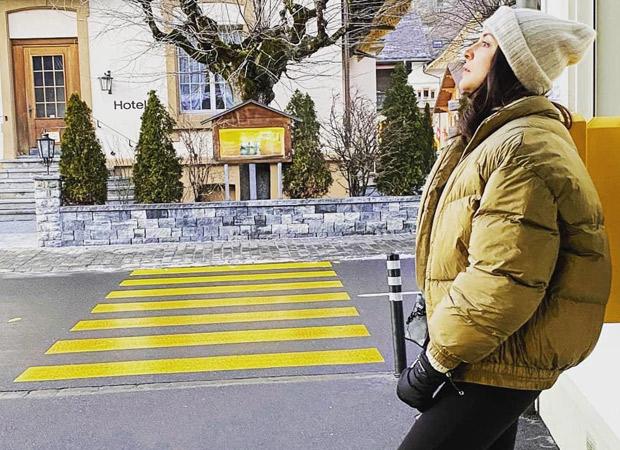 Anushka Sharma is 'gazing at 2020' while she holidays in Switzerland