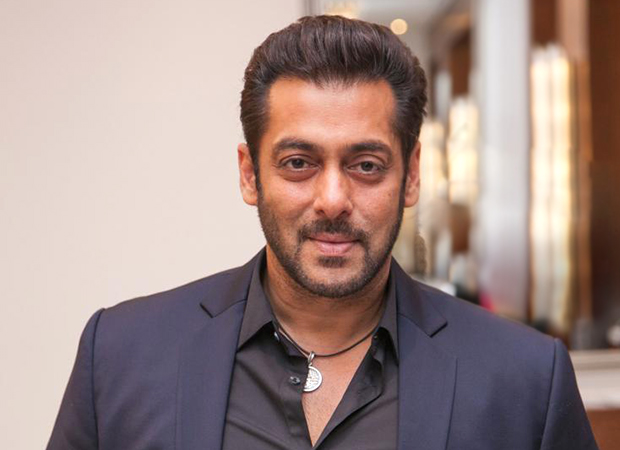 Salman Khan attends the wedding reception of his makeup man's son