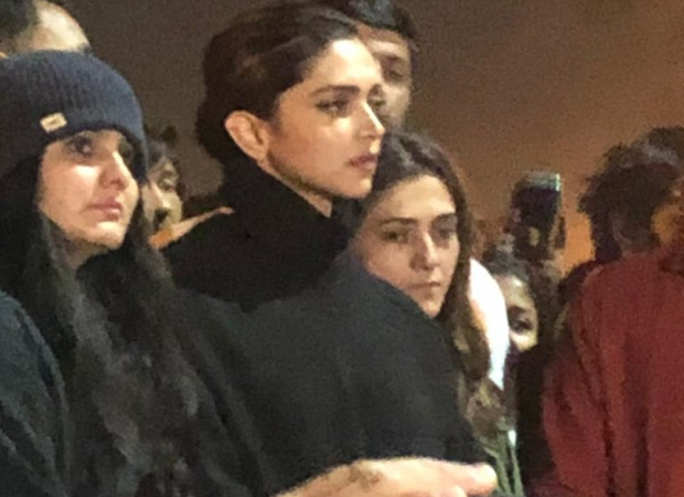 Deepika Padukone stands in solidarity with students of JNU, attends protest at the university