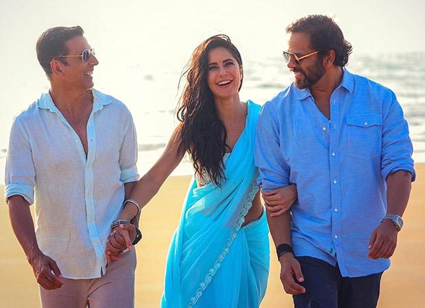 Sooryavanshi: Katrina Kaif shares a happy picture with Akshay Kumar and Rohit Shetty