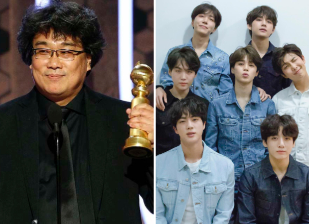 Golden Globes 2020: Parasite filmmaker Bong Joon Ho says BTS has 3000 times more power and influence than him