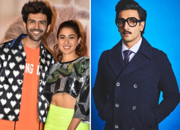 Love Aaj Kal Trailer Launch: Kartik Aaryan thanks Ranveer Singh for making his 'jodi' with Sara Ali Khan