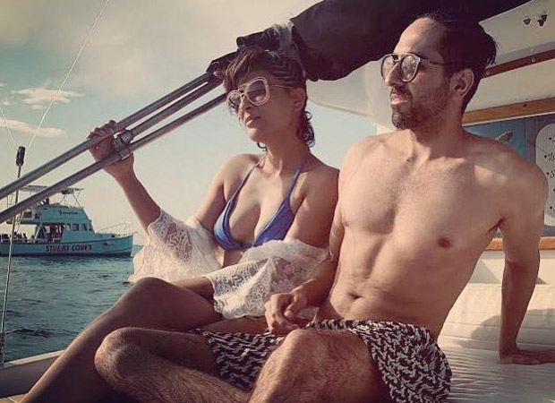 Ayushmann Khurrana and Tahira Kashyap welcome 2020 in the Bahamas! Photo here