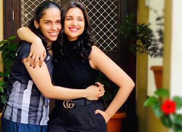 As Parineeti Chopra shoots for Saina Nehwal's biopic, the badminton star starts political career by joining BJP