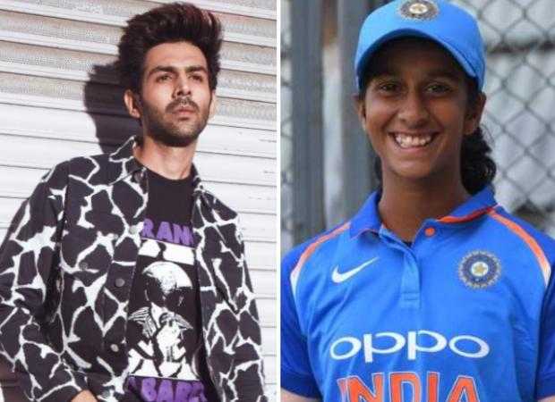 Kartik Aaryan reacts to cricketer Jemimah Rodrigues dancing to 'Haan Main Galat' with security guard at Women`s T20 World Cup
