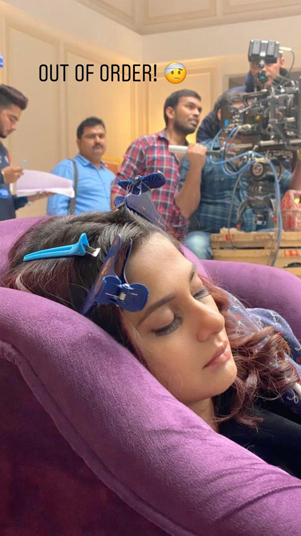 Jennifer Winget napping on the sets of Beyhadh 2 is MAJOR Monday mood!