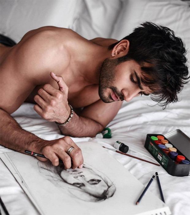 Amid lockdown, Karan Tacker explores his sketching skills, check out the photo