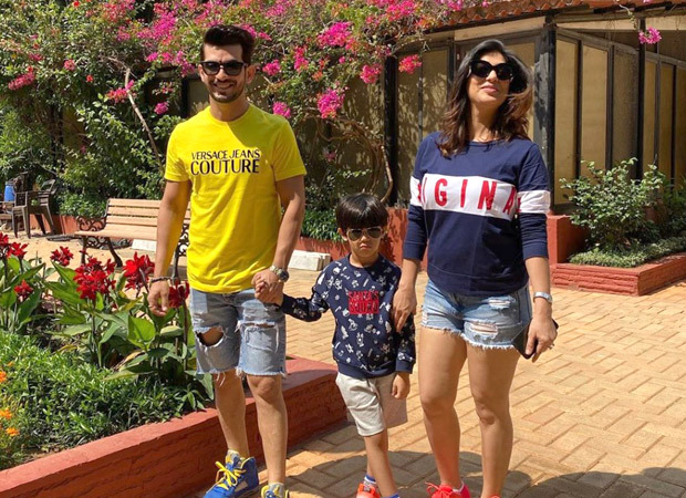 Arjun Bijlani heads to Lonavala with family for a much needed break