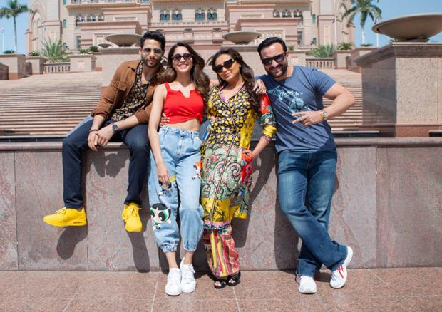 Bunty Aur Babli 2: Saif Ali Khan, Rani Mukerji, Siddhant Chaturvedi and Sharvari Wagh wrap up Abu Dhabi schedule