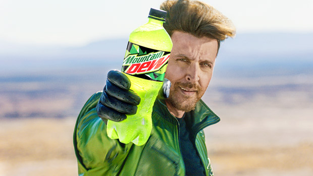 Hrithik Roshan attempts an insane bike stunt in Mountain Dew's new ad directed by Siddharth Anand
