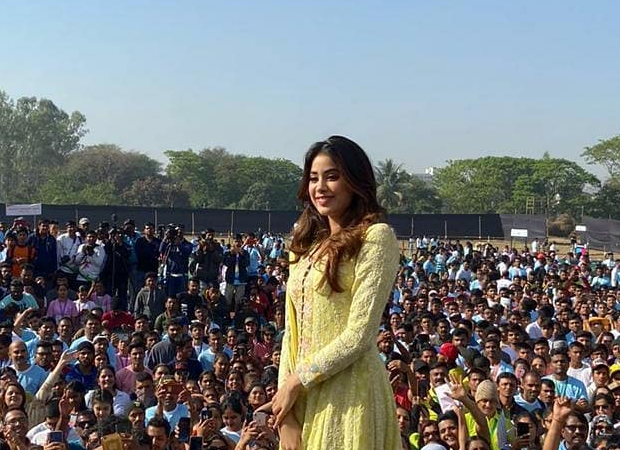 Janhvi Kapoor celebrates Women's Day at a safety awareness event hosted by Nashik Police!