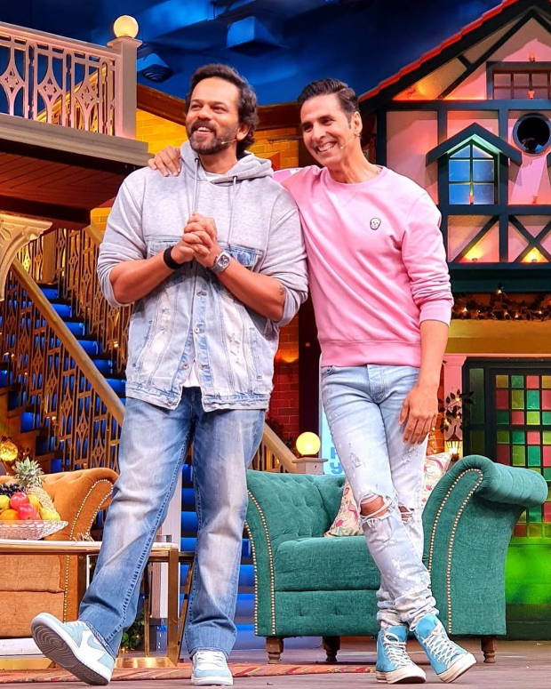 The Kapil Sharma Show: Akshay Kumar and Rohit Shetty begin promotions on their favourite show