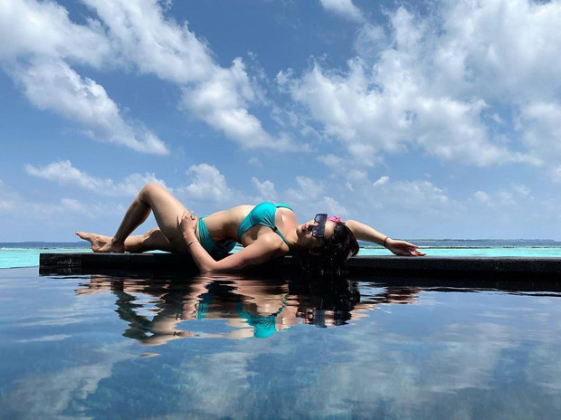 Urvashi Rautela shares another sizzling hot picture in a BIKINI as she relaxes in the Maldives