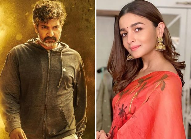 """""""It's not a love triangle,"""" says SS Rajamouli on working with Alia Bhatt in RRR"""