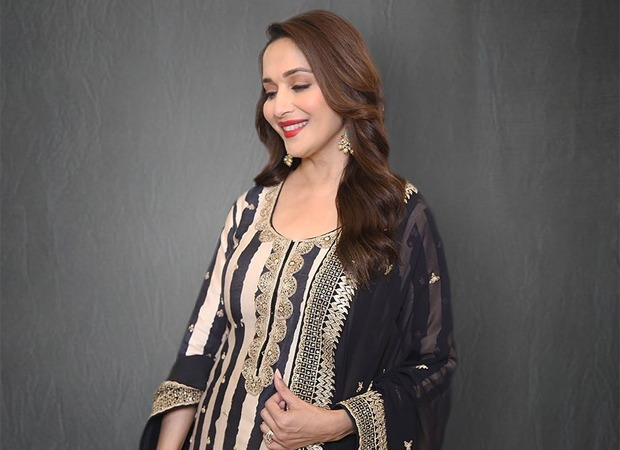 Monday Motivation Madhuri Dixit gives a glimpse of her home workout, encourages fans to do the same