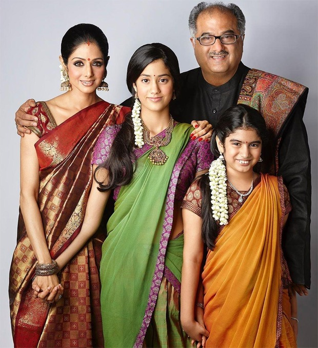 This throwback picture of Sridevi and Boney Kapoor with their daughters Janhvi and Khushi is pretty wholesome