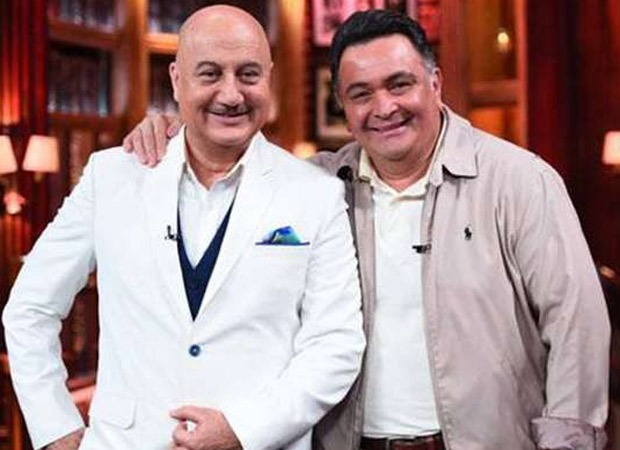 Anupam Kher breaks down as he shares his last video with Rishi Kapoor, shot in New York