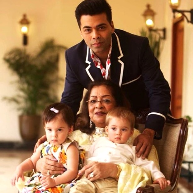 Watch: Karan Johar's kids Yash and Roohi think he wears his mother's Kurta
