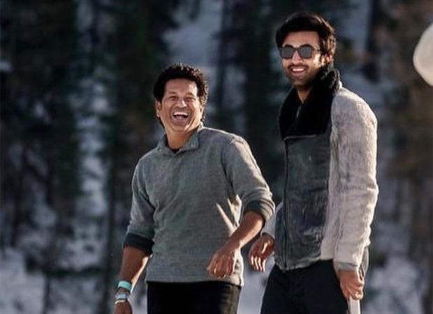 Ranbir Kapoor plays cricket with Sachin Tendulkar in this throwback photo shared by Neetu Kapoor