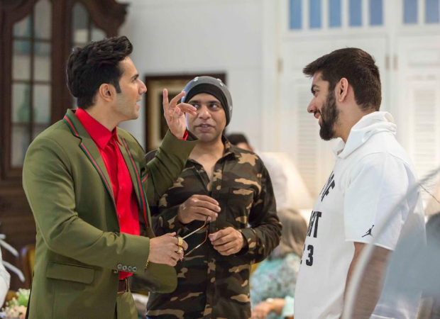 Varun Dhawan shares BTS picture from the sets of Coolie No 1