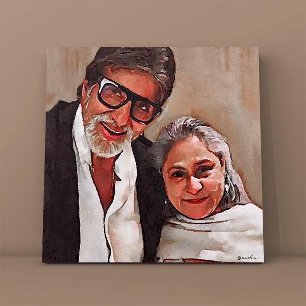 Amitabh Bachchan poses with Jaya Bachchan, thanks everyone for anniversary wishes
