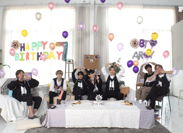BTS recreates first birthday party, relive their memories of past seven years and hope to ARMY soon