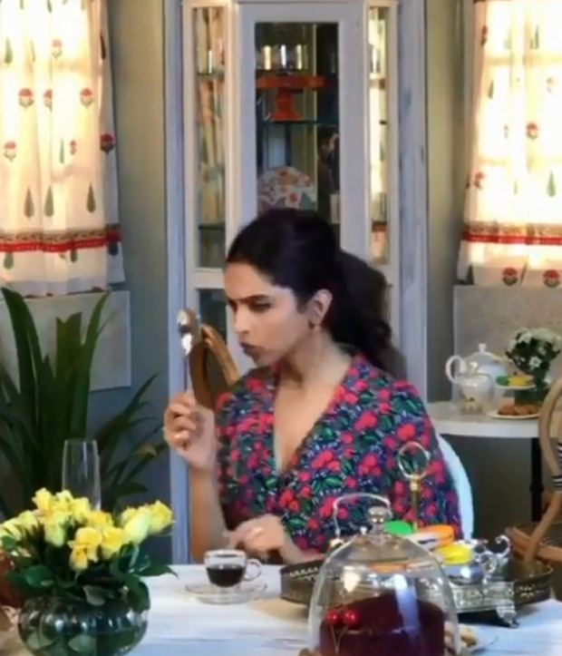 Deepika Padukone shares goofy video after eating cake all week