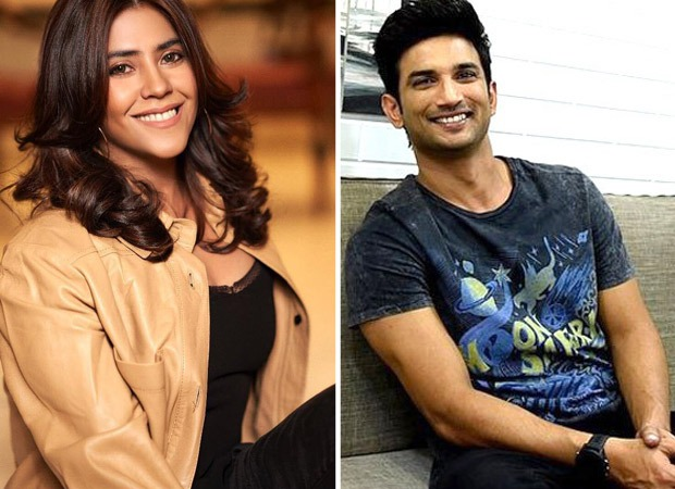 Ekta Kapoor sets up a mental awareness fund in the memory of Sushant Singh Rajput, calls it the Pavitra Rishta Fund