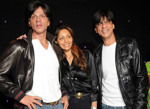 Gauri Khan shares a throwback picture with Shah Rukh Khan's wax statue, SRK's reply will leave you in splits
