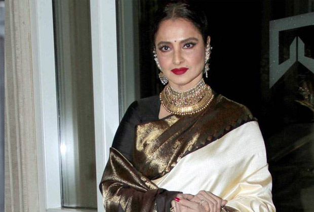 Rekha's home in Bandra sealed by the BMC after her security guard tests positive for Coronavirus