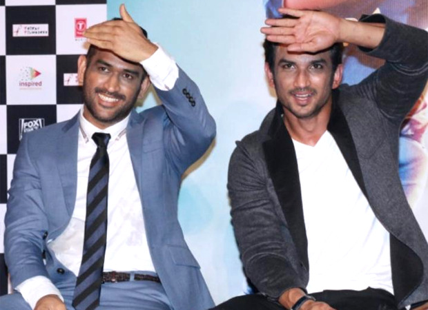 VIDEO: Fans of MS Dhoni may an emotional tribute to Sushant Singh Rajput on the former's birthday