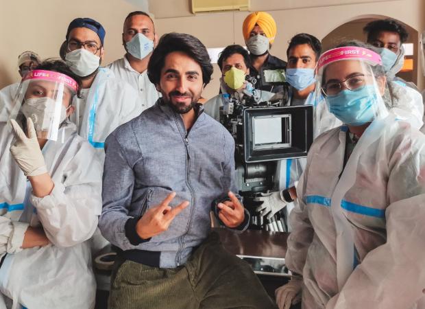 Ayushmann Khurrana has filmed three endorsements in Chandigarh amid COVID-19, will begin film shoot in October