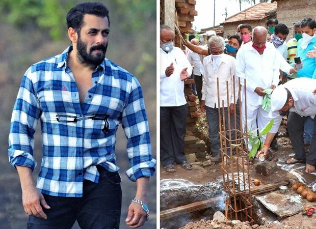 BREAKING: Salman Khan keeps his word; begins construction of 70 houses in flood-hit Khidrapur village in Maharashtra