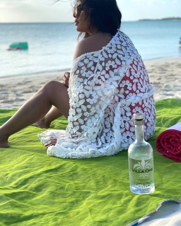 Nick Jonas shares a gorgeous beach side photo of wife Priyanka Chopra