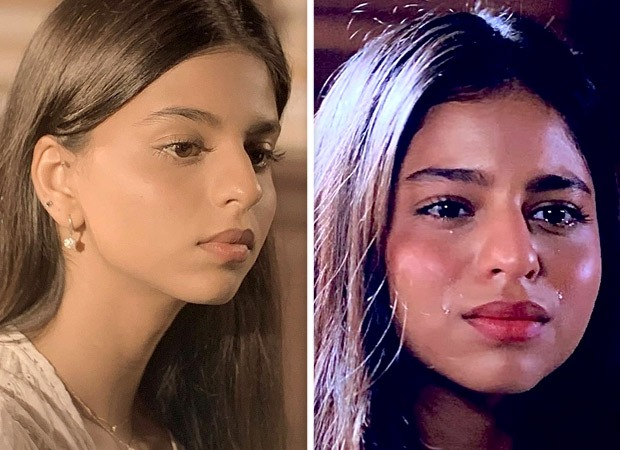 Suhana Khan shares glimpses of her quarantine filming with teary-eyed pictures