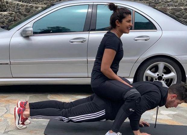 Priyanka Chopra Jonas shows why push-ups are her favourite exercise