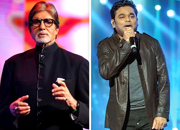 Amitabh Bachchan lends his voice for a song in the film Atkan Chatkan presented by AR Rahman