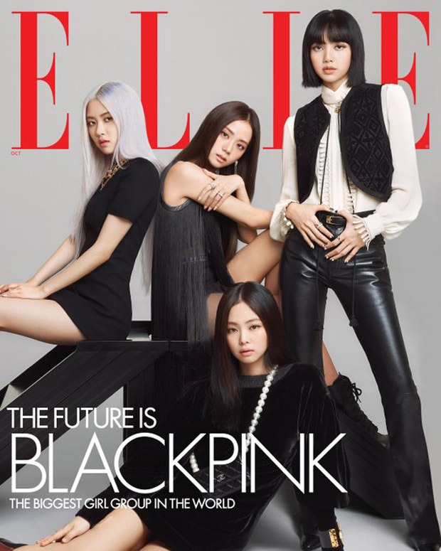 BLACKPINK members look breathtaking on the October issue of Elle; discuss their upcoming album
