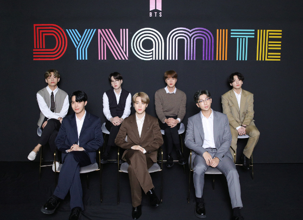 BTS members celebrate with full enthusiasm as 'Dynamite' remains at No. 1 on Billboard Hot 100 for second consecutive week