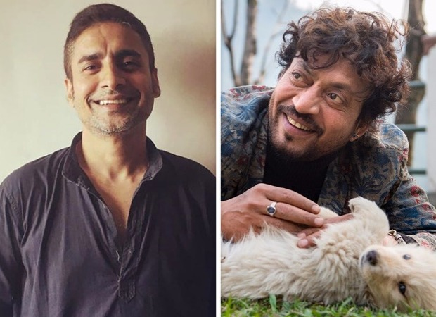 Chandan Roy Sanyal did this unique gesture on visiting Irrfan Khan's grave