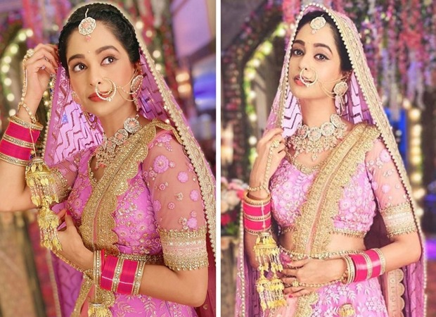 """Be it for reel life or real, dressing up as a bride is always wonderful,"" says Kumkum Bhagya's Mugdha Chapekar"