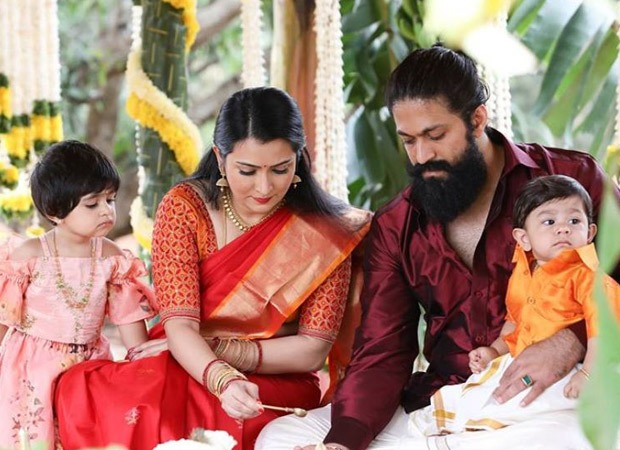 KGF star Yash reveals the name of his baby boy with an adorable video