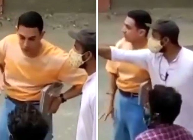 LEAKED VIDEO: Aamir Khan on the sets of Laal Singh Chaddha in his new look